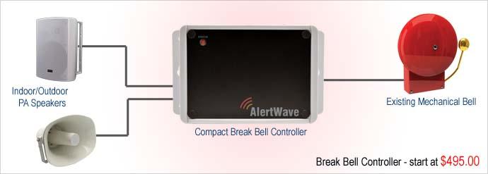 wireless break bell systems. Black Bedroom Furniture Sets. Home Design Ideas