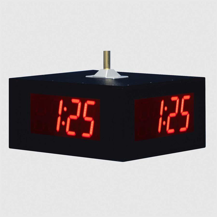 Ts5446 Quad Face Led Digital Wall Clock