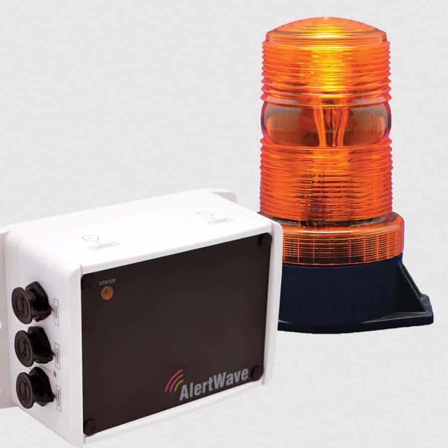 wireless outdoor strobe light