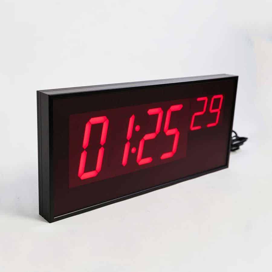 Ts5461 wireless digital led wall clock for schools and digital led wall clock amipublicfo Choice Image