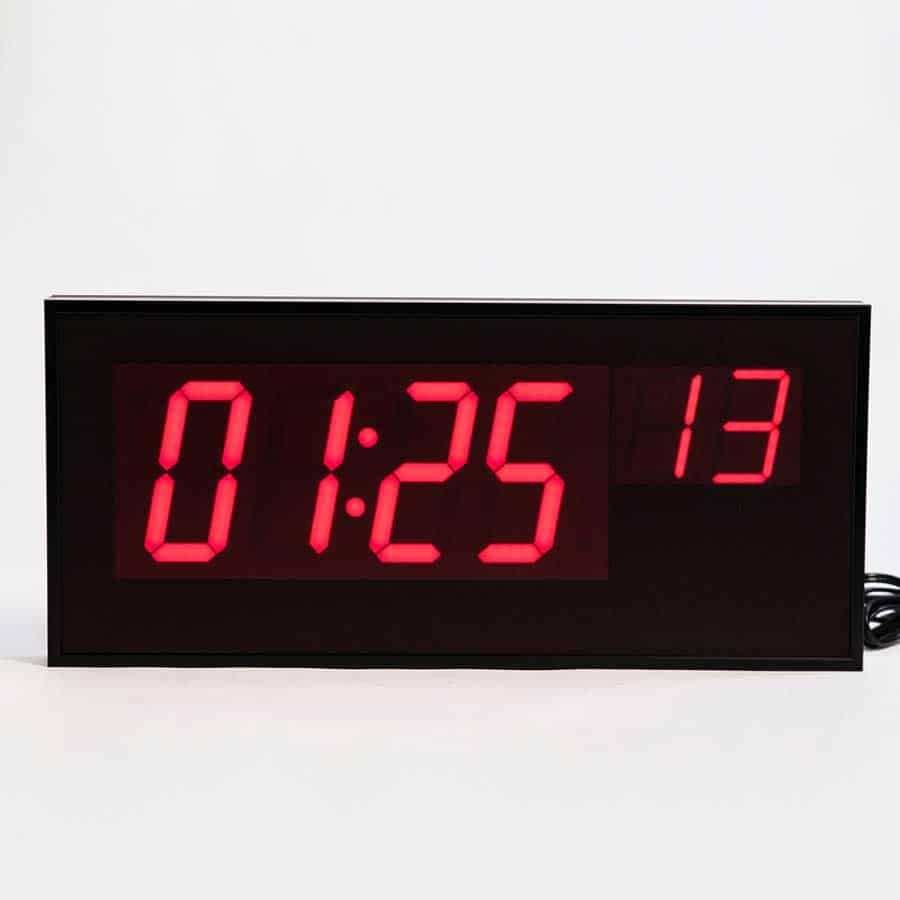 ts5461 wireless digital led wall clock